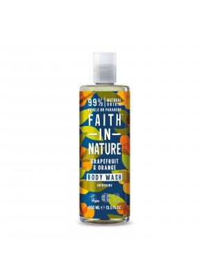 Faith in Nature - Sprchový gel Grapefruit & Pomeranč, 400 ml