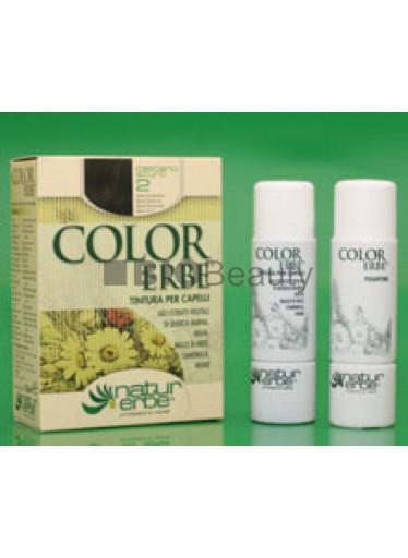 Color Erbe Barva na vlasy No.02 Tmavě hnědá. 3.0