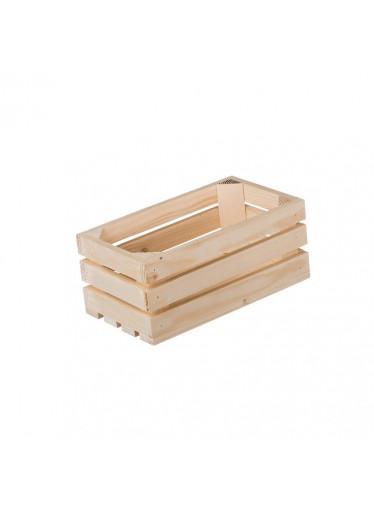 ČistéDřevo Dřevěná bedýnka 28 x 15 x 12 cm II