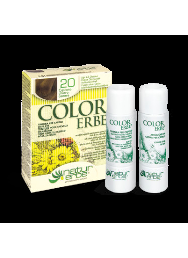 Color Erbe Barva na vlasy No.20 Světle popelavý kaštan. 5.01