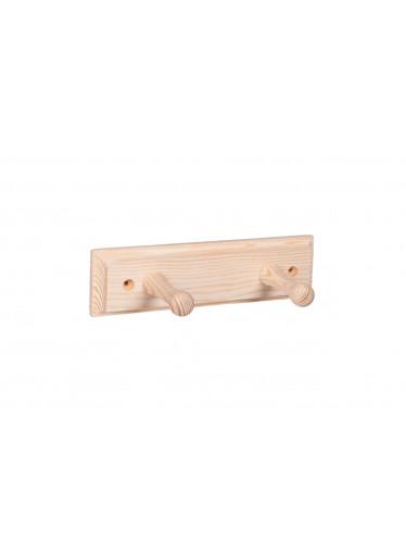 ČistéDřevo Nástěnný věšák dřevěný 20cm