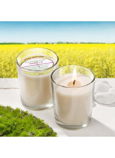 Stuwa Svíčka ve skle přírodní - vanilka (65 g) (1 ks) - s čistě přírodní vůní