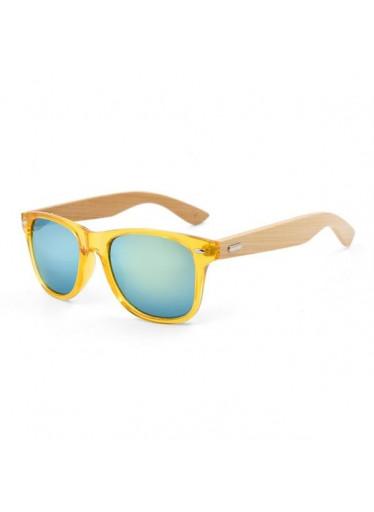 ČistéDřevo Dřevěné sluneční brýle VI