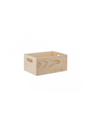 ČistéDřevo Dřevěný box 30X20X14 CM