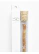 Yoni Přírodní zubní kartáček Miswaak včetně skleněného pouzdra s Květem života