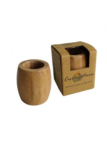 Curanatura Bambusový stojánek na kartáčky velký