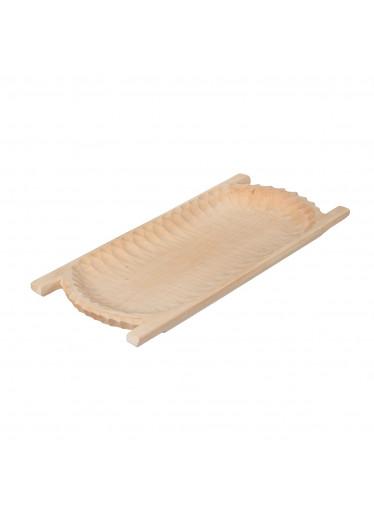 ČistéDřevo Dřevěné dlabané korýtko 70 cm