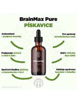 BrainMax Pure Pískavice (Fenugreek) tinktura, 100 ml