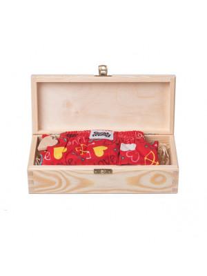 ČistéDřevo Dárková dřevěná krabička I