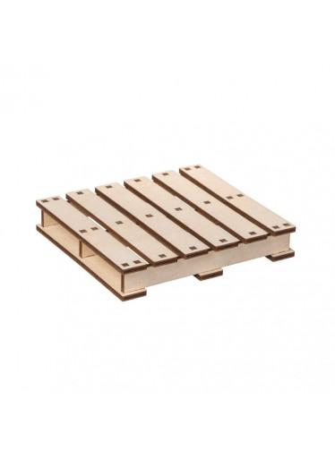 ČistéDřevo Dřevěná paleta pod hrnek