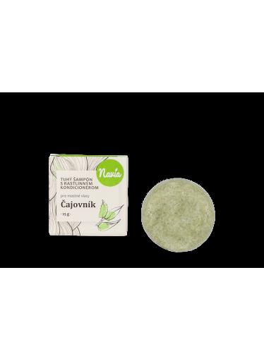 Navia Tuhý šampon s kondicionérem pro mastné vlasy Čajovník (25 g)