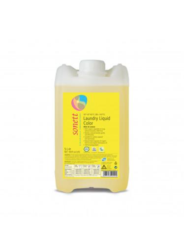 Sonett Prací gel na barevné prádlo COLOR Máta & Citron 5 l
