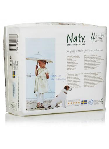 Naty Plenky Nature Babycare Maxi+ 9-20 kg (44 ks)