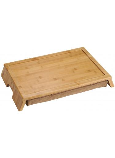Kesper Servírovací stolek s polštářem - bambus