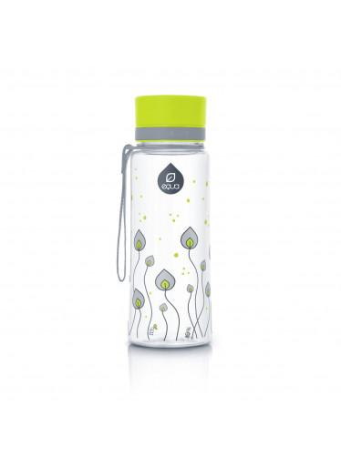 Equa - plastová lahev Green leaves 600ml