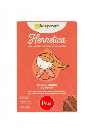 laSaponaria Přírodní barva na vlasy Parvati BIO (100 g) - měď