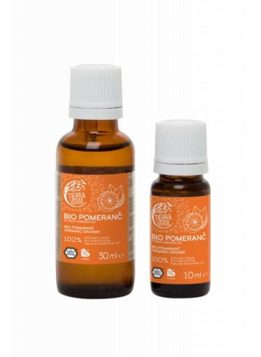 Tierra Verde Silice Pomeranč BIO (30 ml) - zlepšovač nálady
