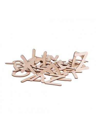 ČistéDřevo Dřevěná naučná abeceda