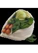 Tierra Verde Sada kapes na uchovávání zeleniny (3 ks) - z bambusu a biobavlny