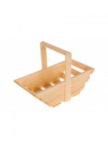 ČistéDřevo Dřevěný koš - malý
