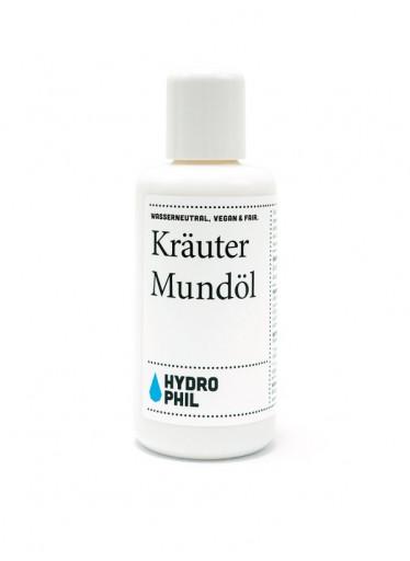 Hydrophil Ústní olej BIO (100 ml) - vhodný pro citlivé zuby i dásně