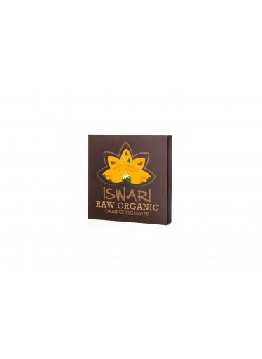 Iswari Bio Raw čokoláda - Crispy Orange 75g