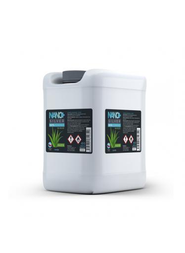 NANO+ Silver HUSTÁ dezinfekce na ruce kanystr 1 litr