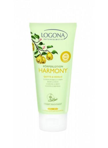 LOGONA Harmony Tělové mléko Kdoule & Vanilka