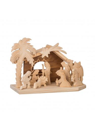 ČistéDřevo Dřevěný betlém X