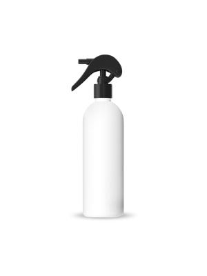 Plastová lahvička s černým rozprašovačem 500 ml