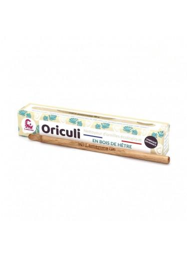 Lamazuna Oriculi zero waste čistič uší z bukového dřeva - mušle (1 ks) - jeden na celý život