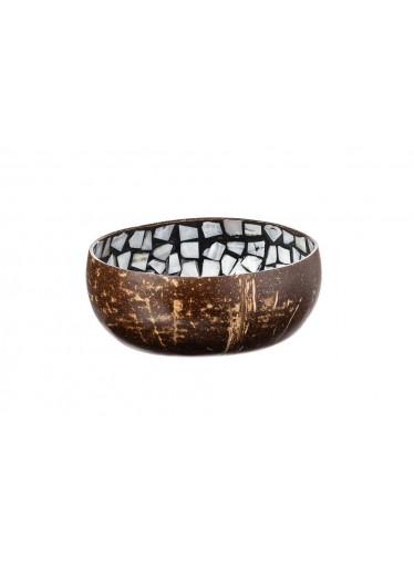 ČistéDřevo Kokosová miska s mozaikou