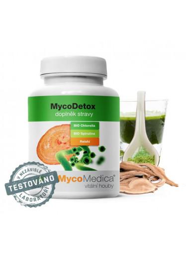 MycoMedica - MycoDetox 120 rostlinných kapslí