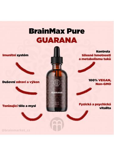 BrainMax Pure Guarana tinktura, 100 ml