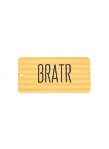 ČistéDřevo Dřevěná cedulka IV - Bratr