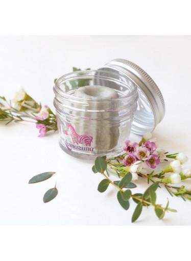 Lamazuna Skleněná dóza na tuhou kosmetiku - k uchování a převozu tuhé kosmetiky