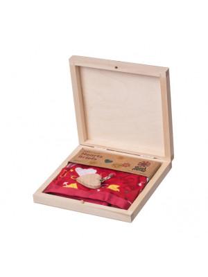 ČistéDřevo Dárková dřevěná krabička III