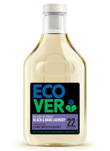 ECOVER Delicate Black na choulostivé prádlo 1l, 22pd