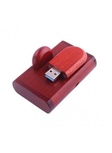 ČistéDřevo Dřevěný USB disk 32GB - třešeň