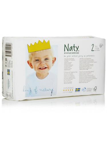 Naty Plenky Nature Babycare Mini 3-6 kg (34 ks)
