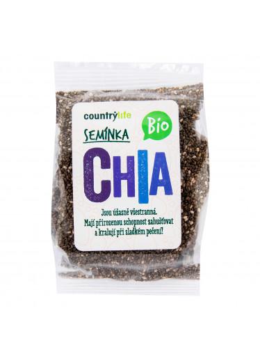 Country Life Chia semínka 100g BIO  COUNTRYLIFE