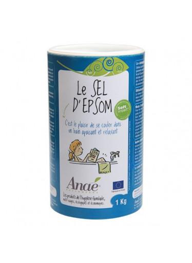 Ecodis Epsomská sůl (dóza 1 kg) - do koupele, peelingu i na zahradu