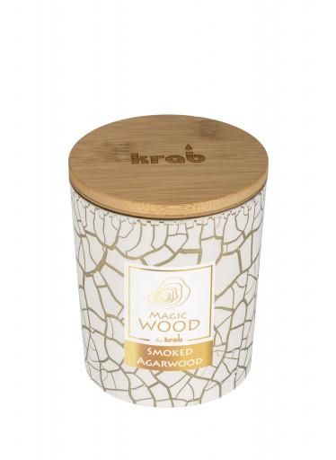 Krab Vonná svíčka Magic Wood - agarové dřevo