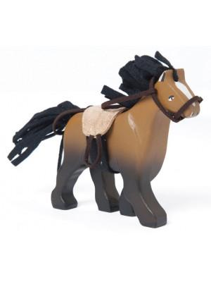 Le Toy Van Dřevěný kůň hnědý