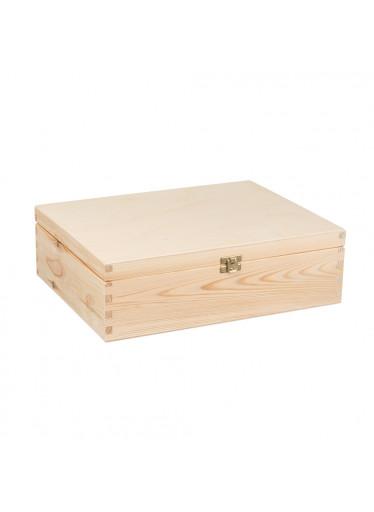 ČistéDřevo Dřevěná krabička II