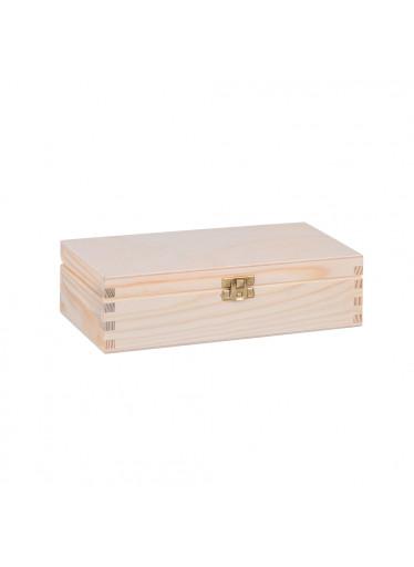 ČistéDřevo Dřevěná krabička I