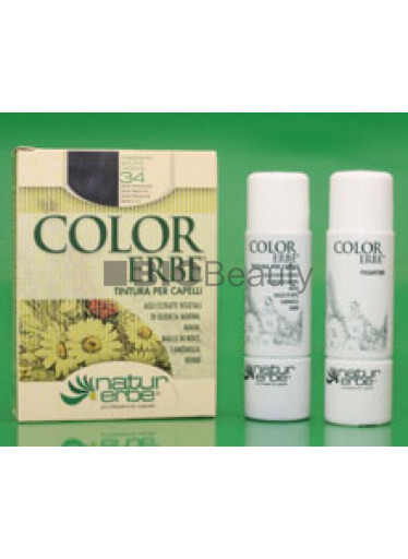 Color Erbe Barva na vlasy No.34 Kaštanová temně fialová. 4.2