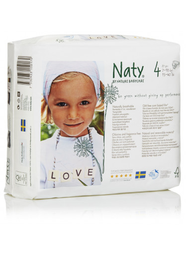 Naty Plenky Nature Babycare Maxi 7-18 kg (46 ks)