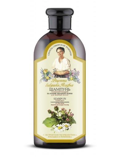 Agafja tónující šampon pro mastné vlasy, 350ml