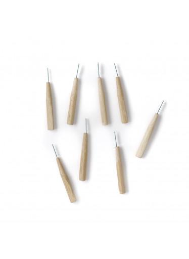 Bambusové mezizubní kartáčky SMALL 8ks Brush it on